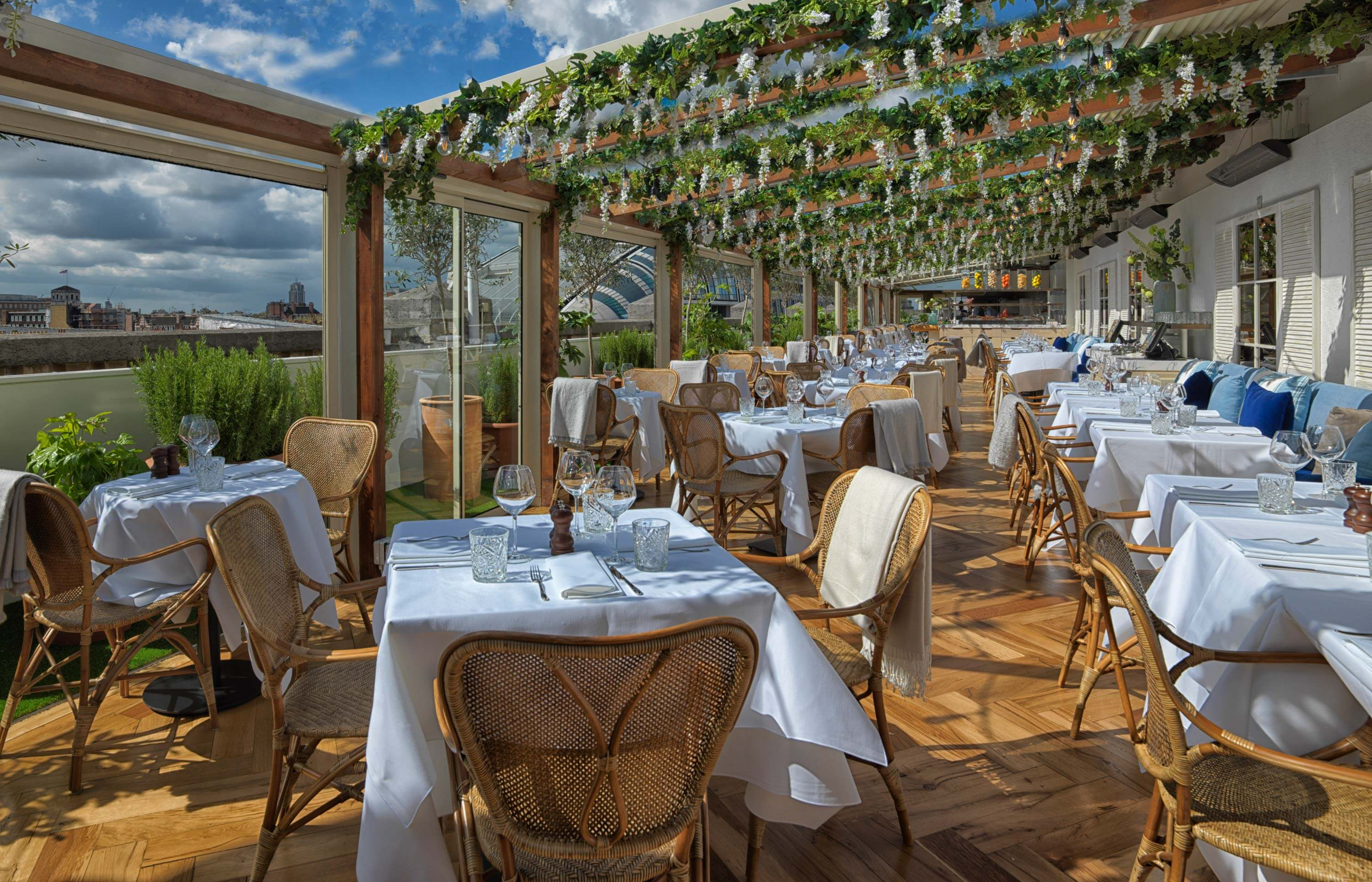 London, Selfridges, The Rooftop – Alto by San Carlo