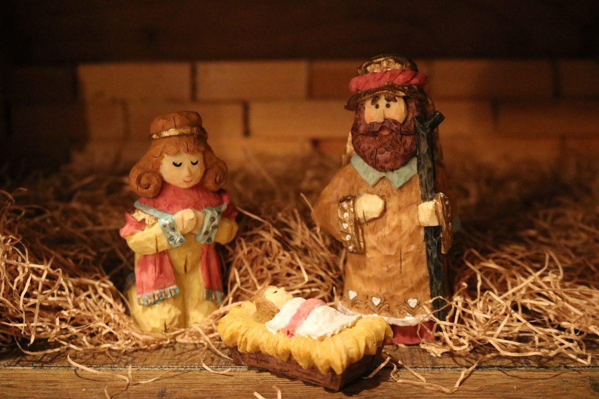 Italian Christmas nativity - San Carlo